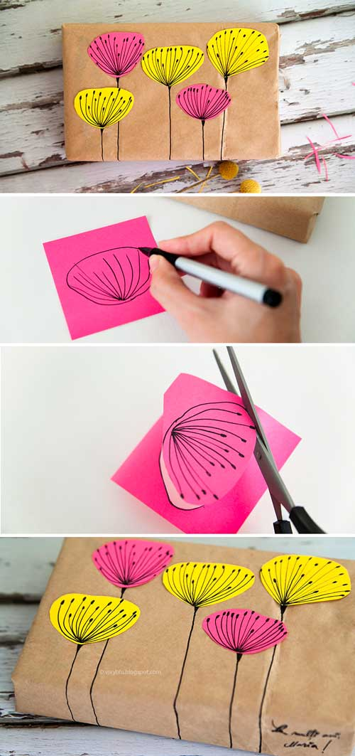 37 Amazingly Creative Diy Gift Wrap Tutorials To Make Your