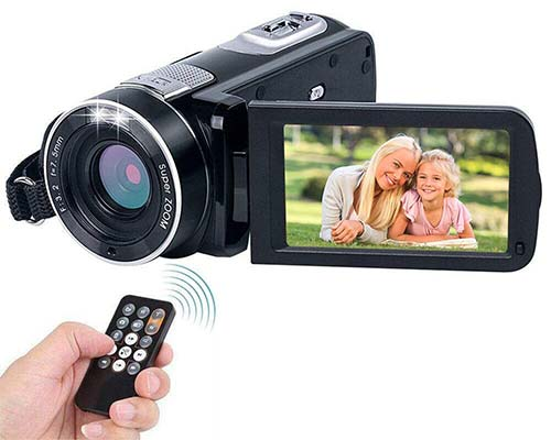 Camcorder for young vloggers