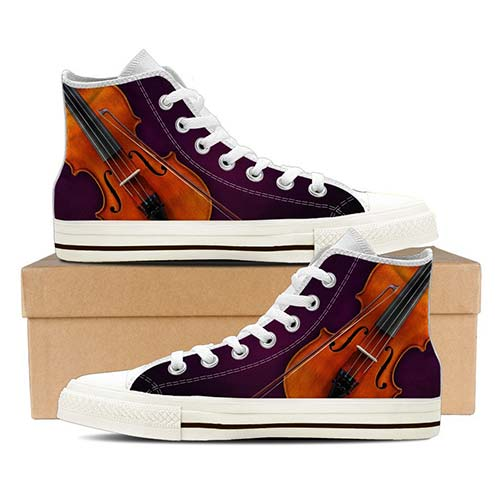 Gifts for 13 Year Old Girls - Hightops with Violins