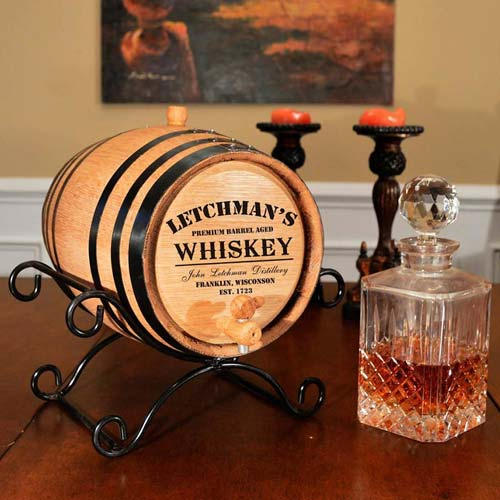 Cardiology Gift Ideas: Whiskey Aging Barrel