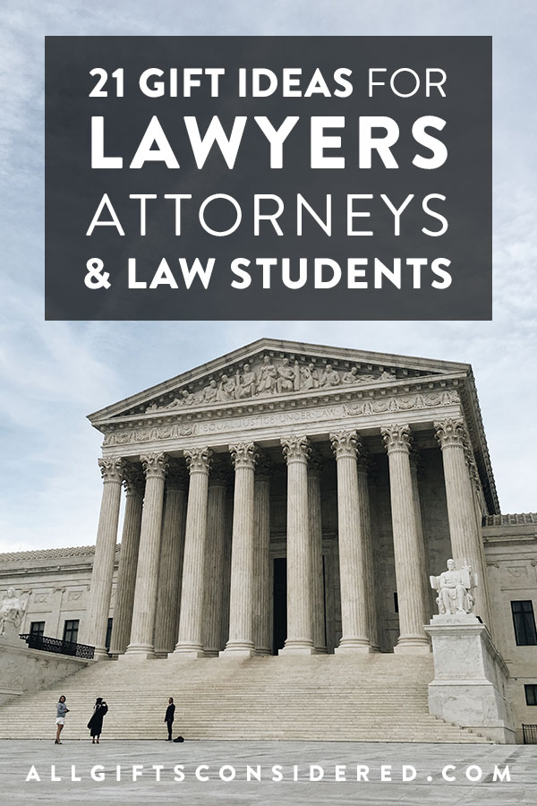 21 Gift Ideas for Lawyers, Attorneys, and Law Students - All Gifts ...