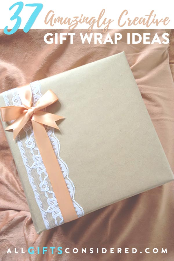 Amazingly creative gift wrap tutorials and ideas