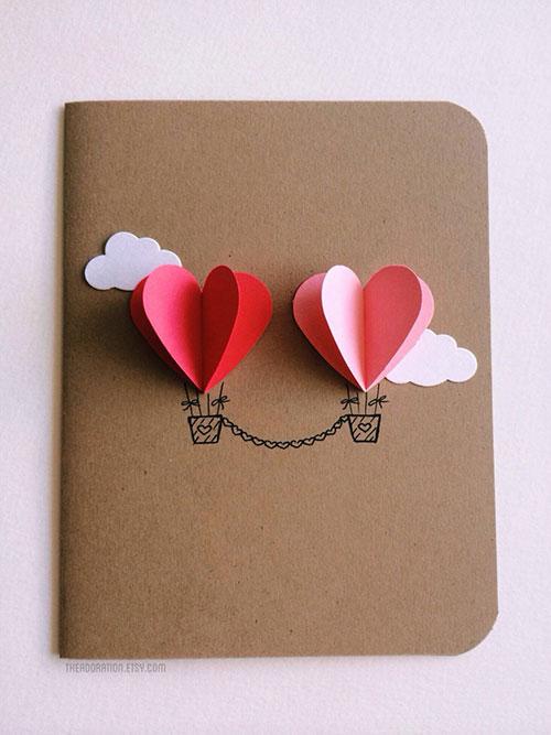 DIY Balloon Hearts Wrap