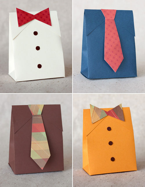 Fancy Tie Gift Bags DIY Gift Wrapping Tutorials
