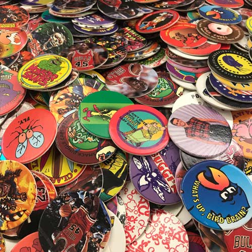 Nostalgic Stocking Stuffers: 1990s Toys - POGS!