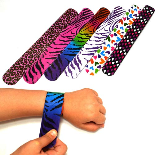 Slap Bracelets for TBT Stocking Stuffers
