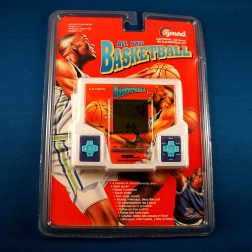 Simple handheld games popular in the 1990s