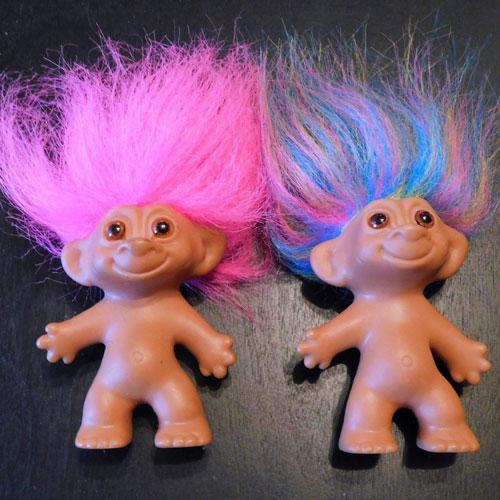 Troll Dolls - Classic 1990s Toys