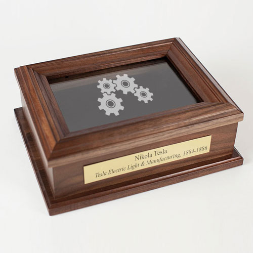 Personalized Engineer Keepsake Box Graduation/Retirement Gift