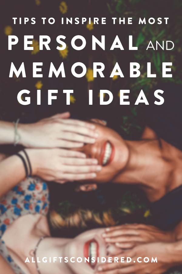 Ideas to help you come up with the perfect gift idea