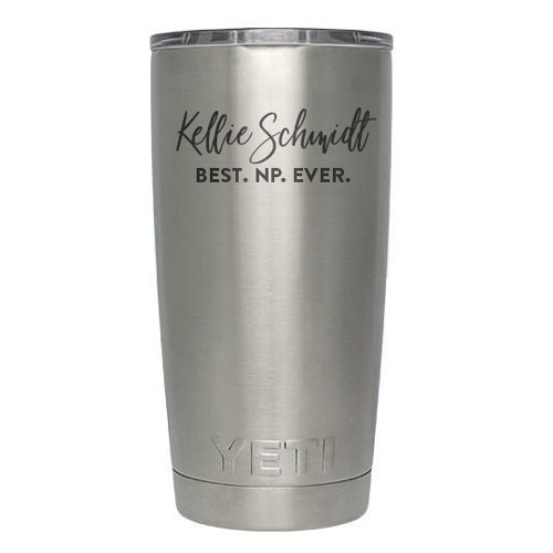 Personalized Tumblers for Nurse Practitioner