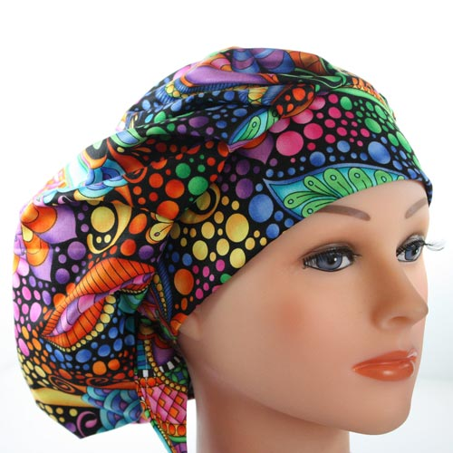 Fun scrub hats for nurse practitioners