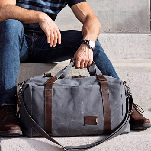 Personalized Weekend Duffel Bag - Gifts for Guys