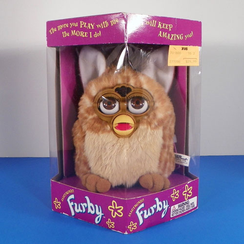 Vintage Furby Toy Christmas Gift Ideas