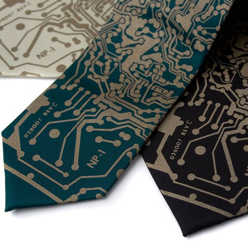 Nerdy Engineering Ties