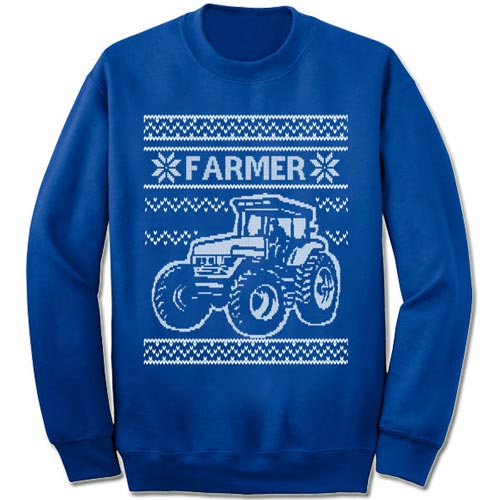 Ugly Christmas Sweater for Farmer