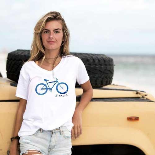 Recycled beach tshirt
