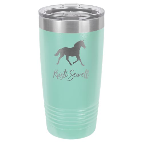 Personalized Horse Lover Tumbler