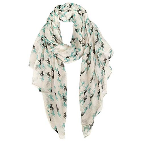 Gifts for Horse Lovers - Horse Scarf
