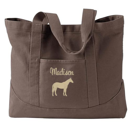Personalized Barn Bag Gift Idea for Horse Lover