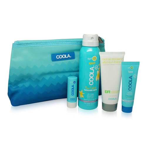 Natural sunscreen kit