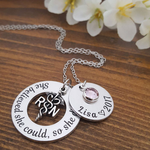 Nursing School Graduation Gifts - Necklace