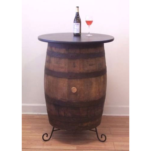 Cute Bistro/Pub Table made from a Whiskey Barrel