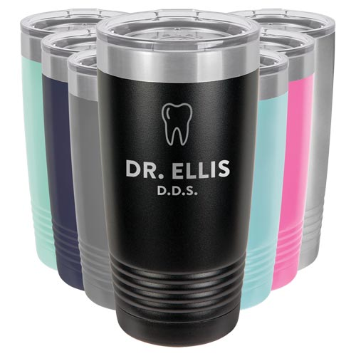 Personalized Tumbler for Dentist
