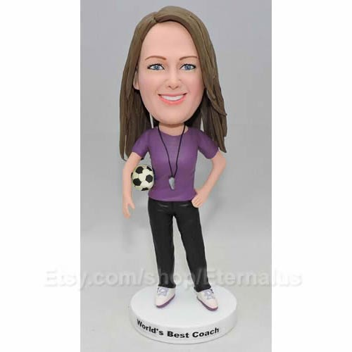 Personalized Soccer Bobble Head