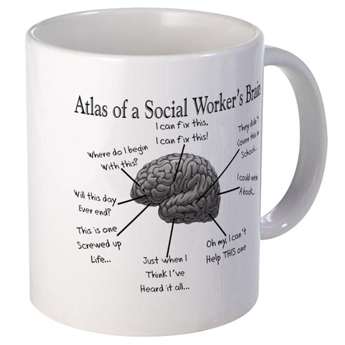 Social Worker Gift Ideas - Funny Coffee Mugs