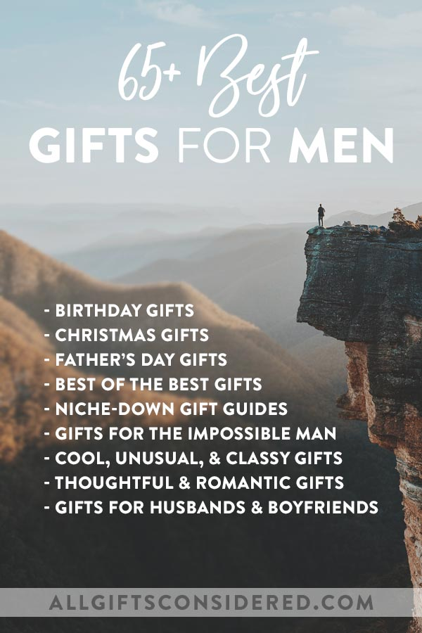 Creative and unique ideas for the guy in your life