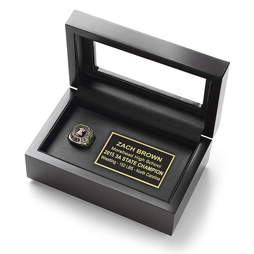 Championship Ring Display Cases