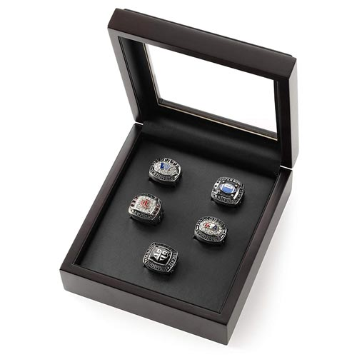 Sports Ring Box - Display Case