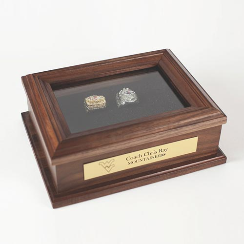 Collectible Sports Ring Display Case