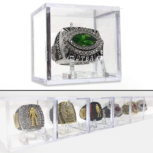 Sports Championship Ring Displays