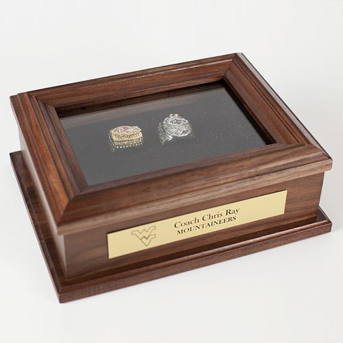 Custom Engraved Sports Ring Box