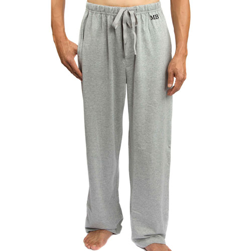 Monogram Sweatpants Father's Day Gift Idea