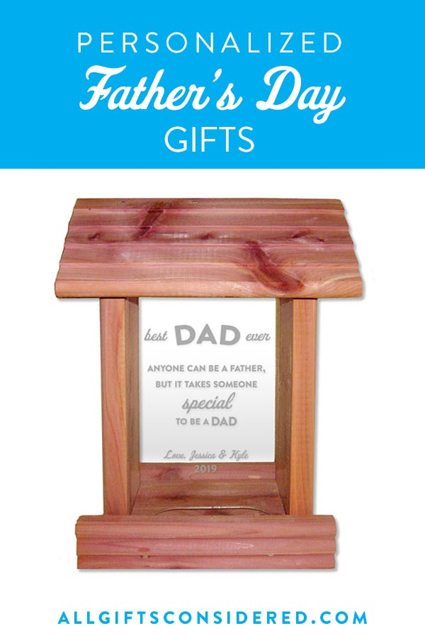Personalized Father's Day Gifts for a Great Dad