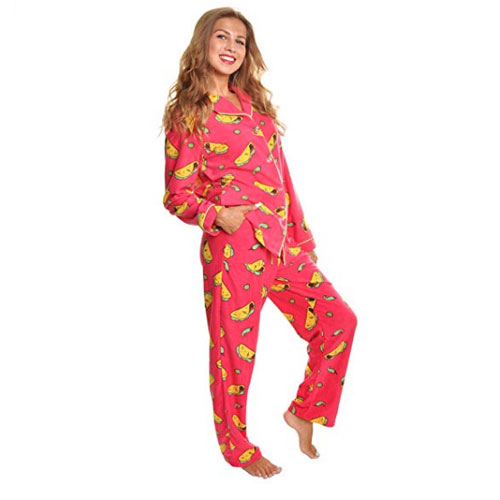 Polyester Taco Pajamas