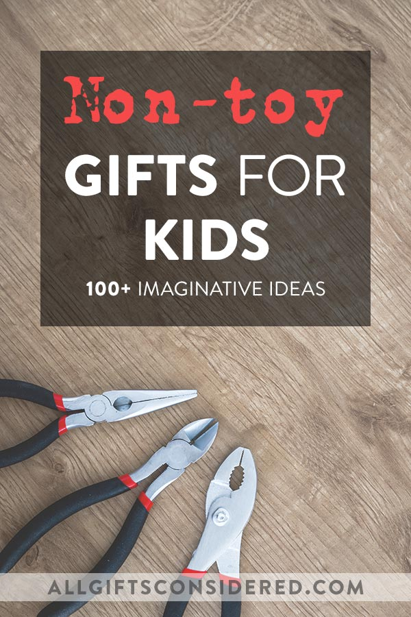 Imaginative Non-Toy Gifts for Kids