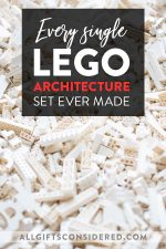 All the LEGO Architecture sets