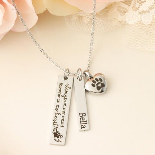 Pet Sympathy Memorial Jewelry