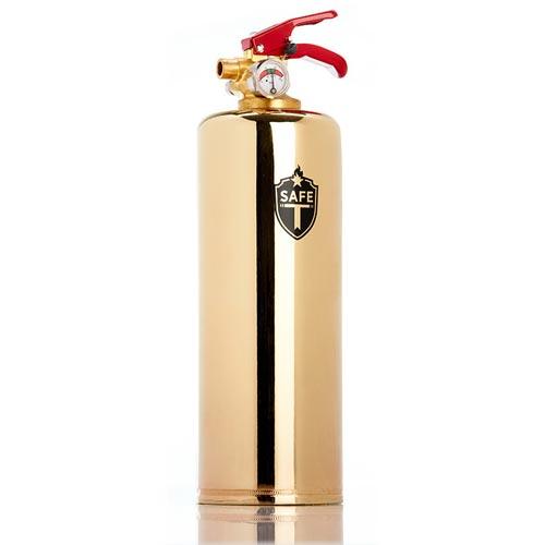 Premium Brass Fire Extinguisher