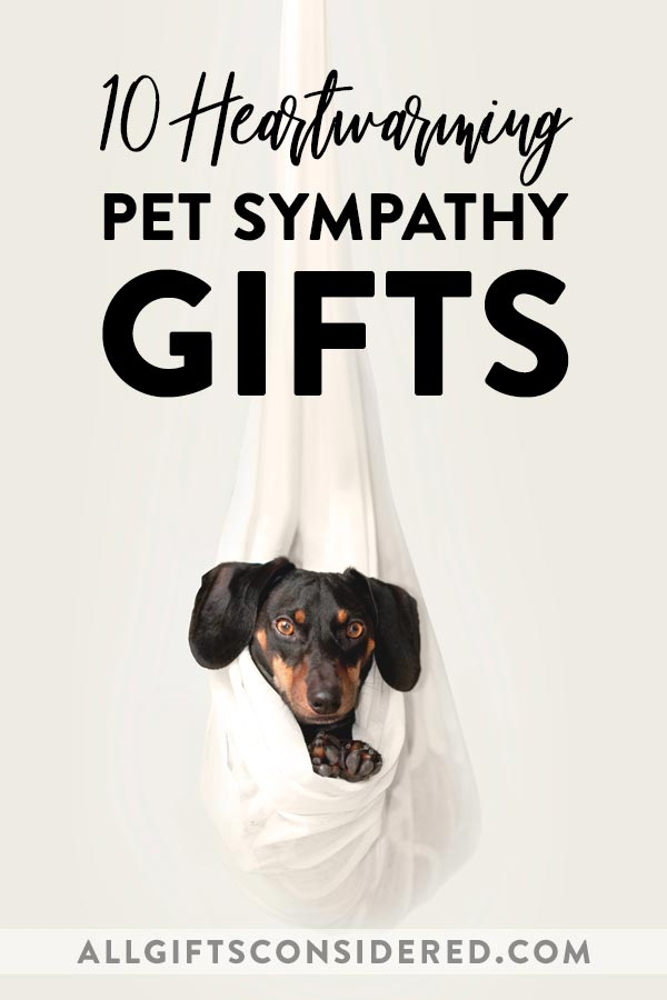 Sympathy Gifts for Pets
