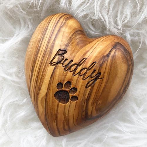 Pet Sympathy Gifts - Memorial Heart