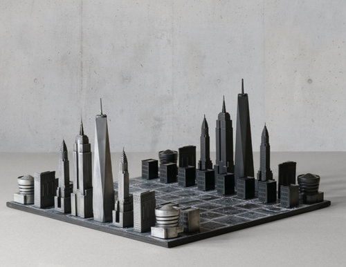 Chess Set for Architects
