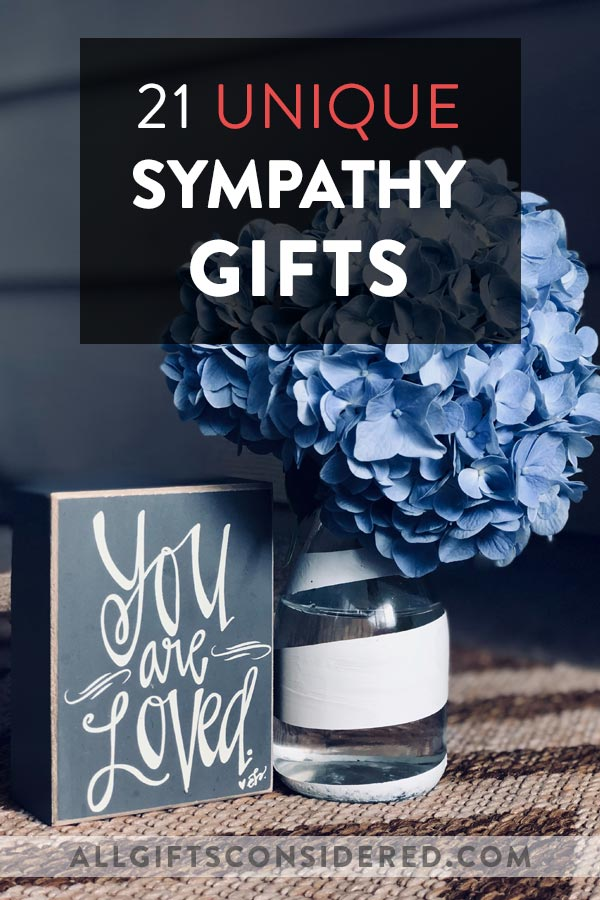 21 Unique Sympathy Gifts to Show Love