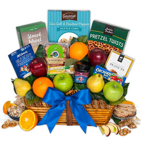 Nurse Week Ideas: Healthy Snack Gift Basket