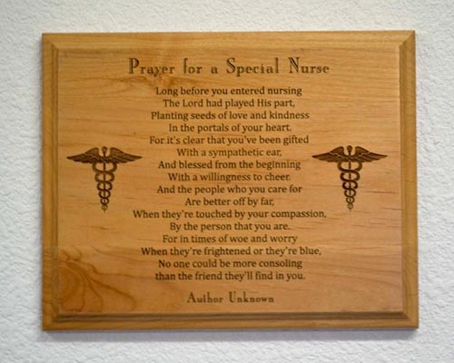 Nurse Week Gift Ideas: Nurse Prayer Sign