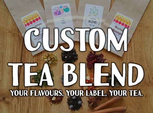 Custom Tea Blend Gift Idea
